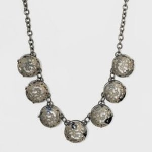 Short Round Beaded Necklace